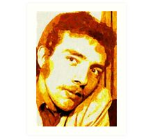 PORTRAIT OF THE ARTIST AS A YOUNG DUDE. Art Print
