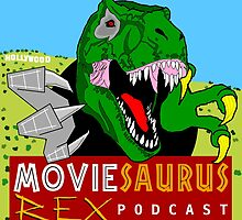 The Moviesaurus Rex Podcast Cover Art by MRexPodcast