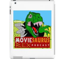 The Moviesaurus Rex Podcast Cover Art iPad Case/Skin