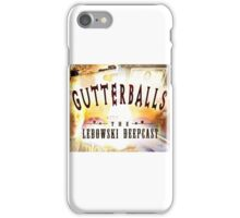 Gutterballs Logo iPhone Case/Skin