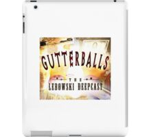 Gutterballs Logo iPad Case/Skin