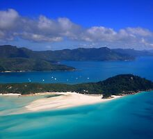 Whitehaven Beach, Great Barrier Reef by Jill Fisher