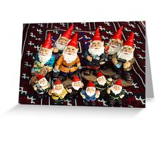 Gnomes Collective Greeting Card