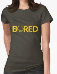 Sherlock Bored Smiley Print T-Shirt
