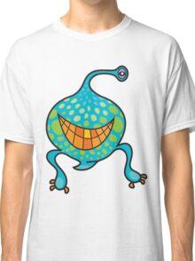 Mr. Blob Cartoon Green Monster Classic T-Shirt