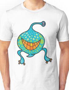 Mr. Blob Cartoon Green Monster Unisex T-Shirt