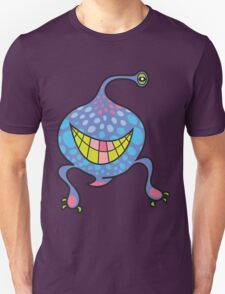 Mrs. Blob Cartoon Blue Monster Unisex T-Shirt