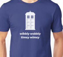 Wibbly Wobbly Timey Wimey Shirt (Dark Colors) Unisex T-Shirt