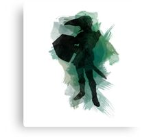 The Legend of Zelda: Watercolor Link Canvas Print