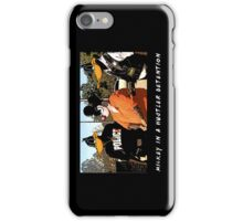 Mickey in a Hustler detention Street Art iPhone Case/Skin
