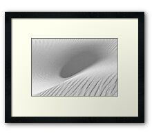 Dunescape 08 - St Annes on Sea Dunes, Fylde, Lancs Framed Print