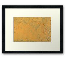 Mustard Yellow Framed Print
