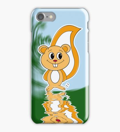 Rally Squirrel iPhone Case/Skin