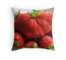 An unusual shape Throw Pillow