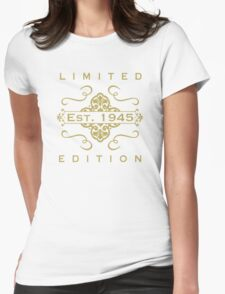 1945 Limited Edition Womens Fitted T-Shirt