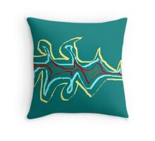 This work is called 'Burn it down' Throw Pillow