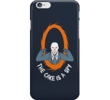 The cake is a SPY iPhone Case/Skin