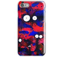 The Creatures From The Drain painting 41 iPhone Case/Skin