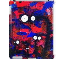 The Creatures From The Drain painting 41 iPad Case/Skin