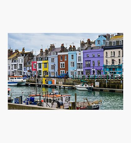 Weymouth Harbour, Dorset, UK Photographic Print