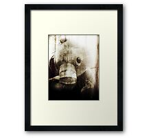 toys look back Framed Print