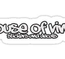 House of Vinyl Jumper Sticker