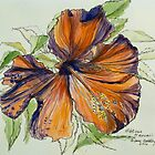 2013 Calendar of pen and washes by artist Elizabeth Moore GoldingⒸ by Elizabeth Moore Golding