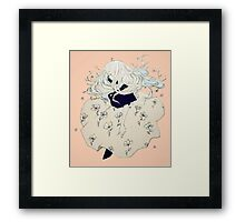 sprouting thoughts. Framed Print