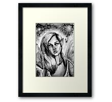Ink Faerie Framed Print