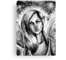 Ink Faerie Canvas Print