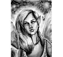 Ink Faerie Photographic Print