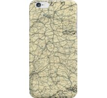 World War II Twelfth Army Group Situation Map April 18 1945 iPhone Case/Skin