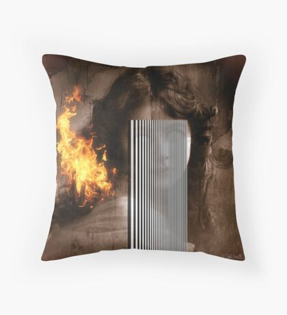 Eyes Without A Face Throw Pillow