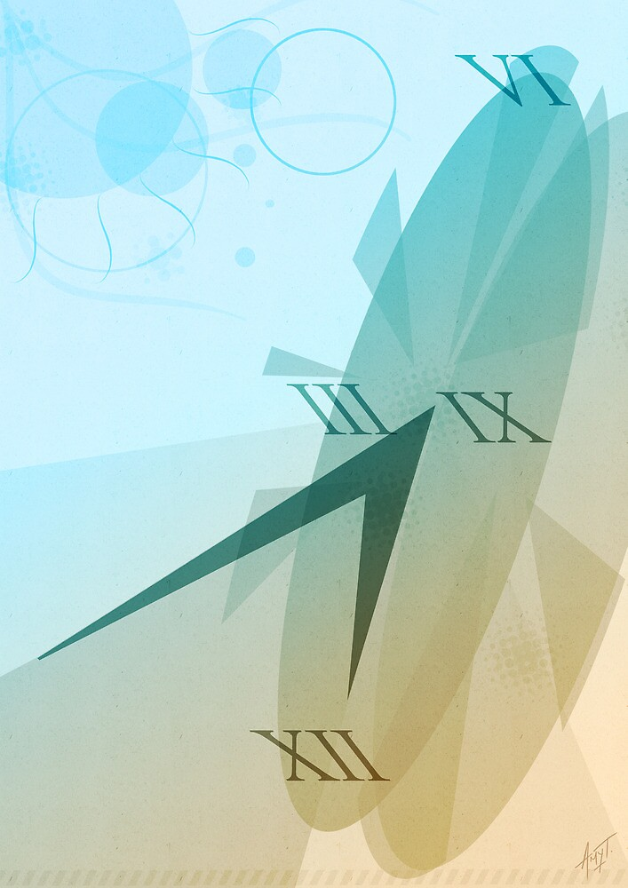 sundial by Amy Tran