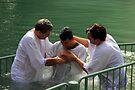 Baptised in the Jordan river #6 by Moshe Cohen