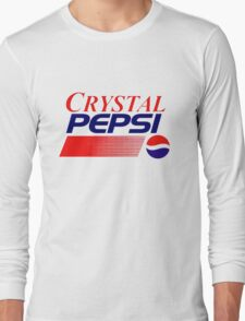 Crystal Pepsi Long Sleeve T-Shirt