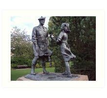 Highland Division War memorial Art Print