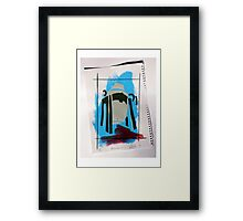 Bessemer 1 out of 6 (Blue) Framed Print