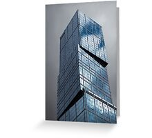 Cool Blue Greeting Card