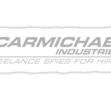 Carmichael Industries Text Only Logo Sticker