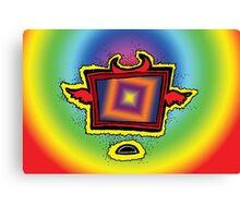 Kinetic Tv Canvas Print