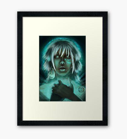 Underwater Mystic Framed Print