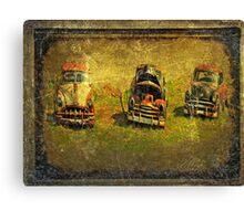 3 classics Canvas Print