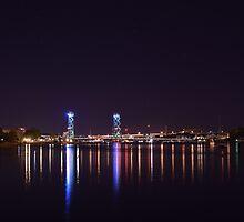 Bridge Lights by RonHebert