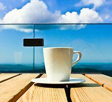 Coffee in the Sky by tutulele