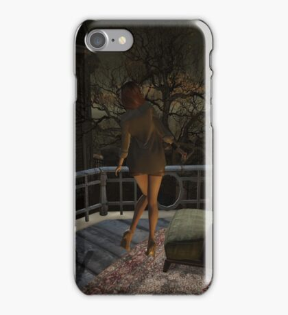 Lonely Lady iPhone Case/Skin