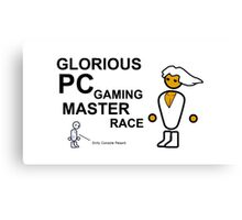 PCMR - PC Master Race Canvas Print