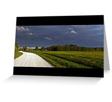 Road to the Rain Greeting Card