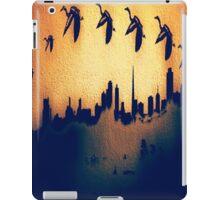 Golden Heron Over San Francisco Skyline iPad Case/Skin