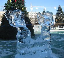 Ice sculptures-2 by lidiagould
